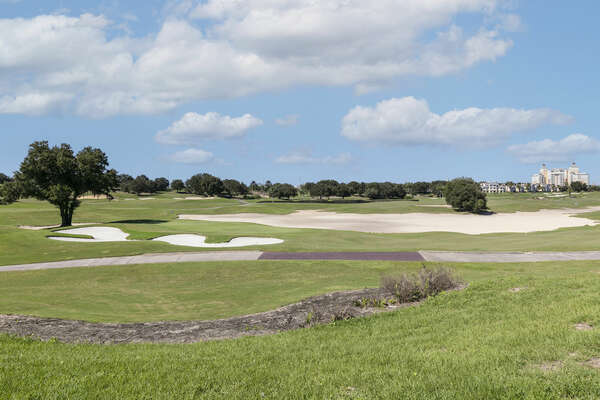 The award-winning Arnold Palmer golf course right in your backyard