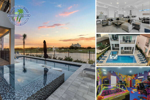 Welcome to Dream View, a custom built home with a West-facing Pool, Movie Room, and Unique Kids Bedrooms | PHOTOS TAKEN : February 2020