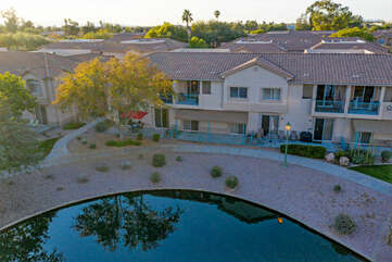 What's not to love about this waterfront resort   community in magnificent Mesa!