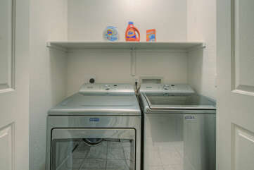 Brand new washer and dryer to keep your wardrobe ready for the next outing