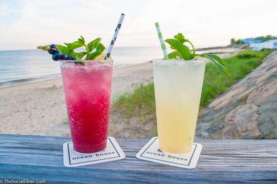Summer cocktails at the patio of the Ocean House!  Dennisport , Cape Cod , New England  Vacation rentals