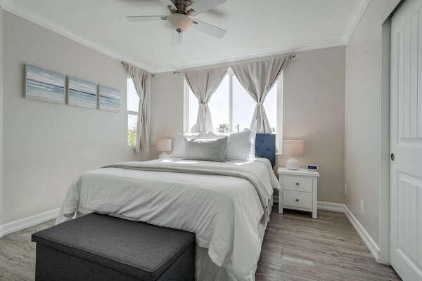 Guest Room Includes Queen Bed.