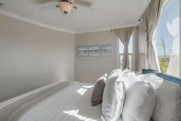 Guest Room Features Peak Water Views.