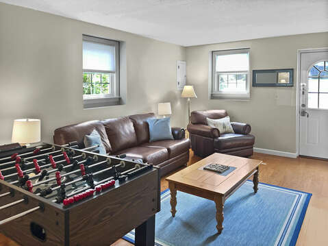 Lower Level Family Room - 60 Cornerwood Drive Harwich Cape Cod - New England Vacation Rentals