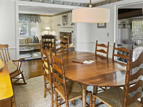 Dining Area - 60 Cornerwood Drive Harwich Cape Cod - New England Vacation Rentals