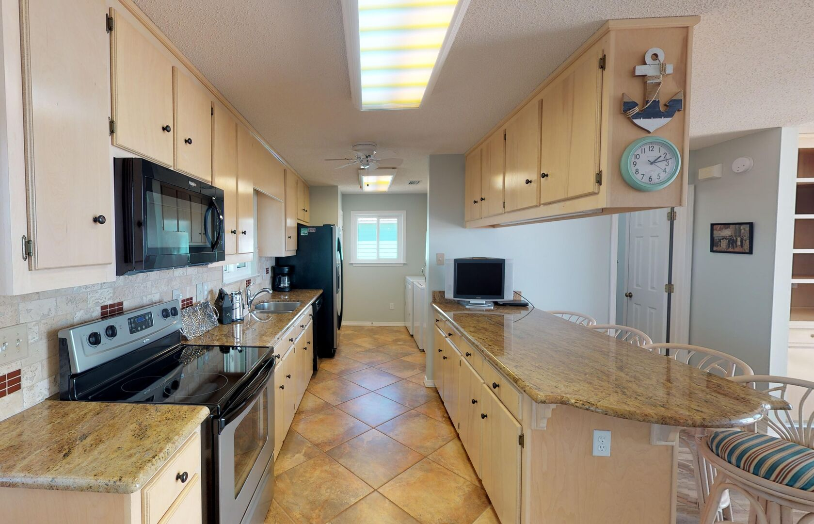Spacious Updated Kitchen in Vacation Rental.
