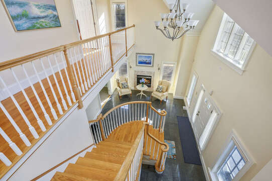 Head to the 1st floor -306 Millway Barnstable Cape Cod New England Vacation Rentals