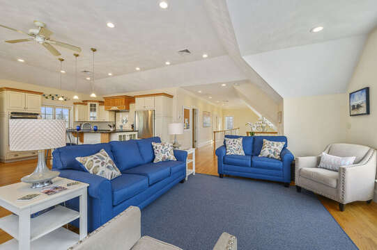 Open concept living - 306 Millway Barnstable Cape Cod New England Vacation Rentals