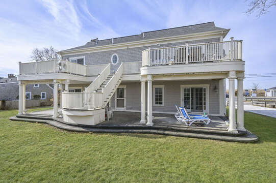 Decks and patios! 306 Millway Barnstable Cape Cod New England Vacation Rentals