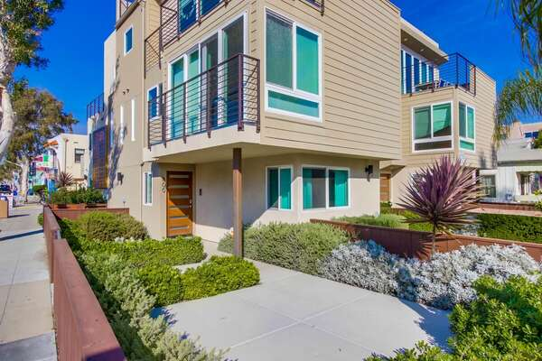 Front view of this San Diego Vacation Home Rental