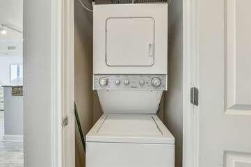 washer/dryer in condo