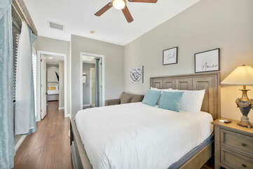 Access the Casita Suite 2 through Bedroom 4 or through the front courtyard!