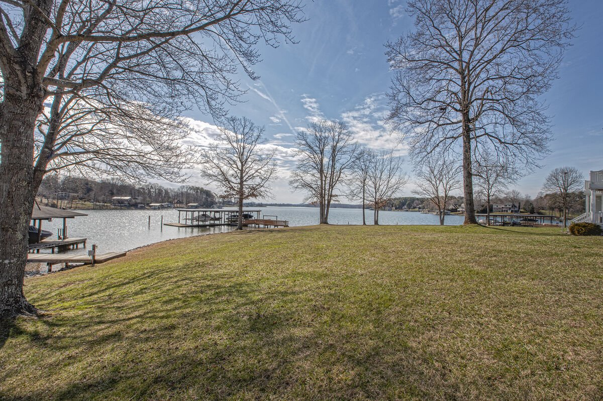 Views and the Beach just steps away from this Smith mountain lake  rental