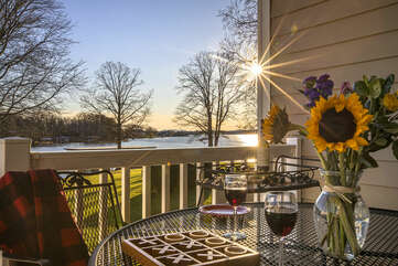 Relax and Enjoy the Sunset Overlooking Smith Mountain  Lake.
