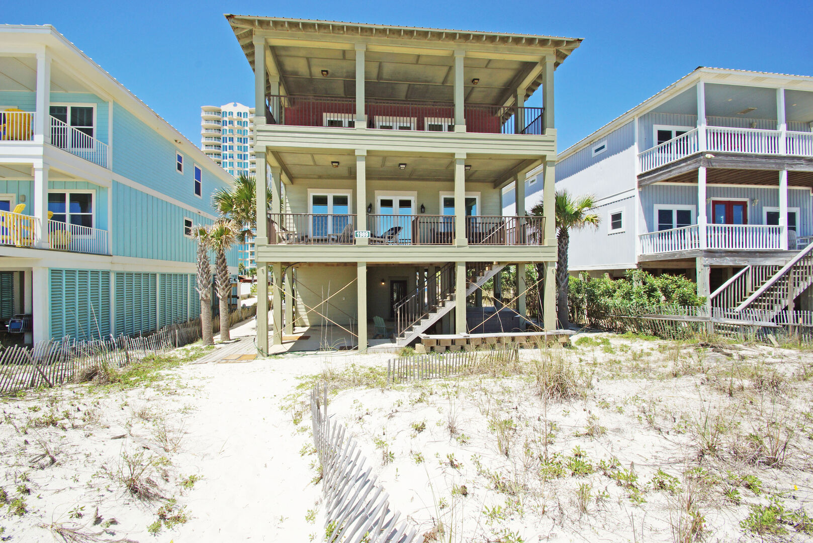 Front Picture of our Beach House.