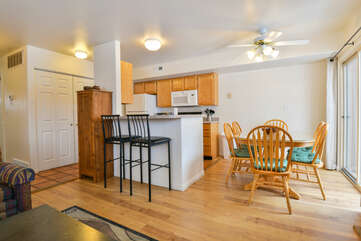 Kitchen and Dining Areas at Moab Best Places to Stay
