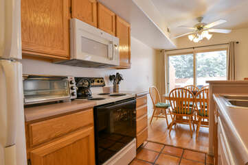 Fully Equipped Kitchen at Solano Vallejo 3335