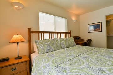 Master Bedroom with Bed and Night Stands