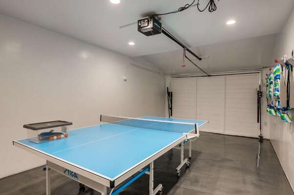 Ping Pong Table and Beach Equipment