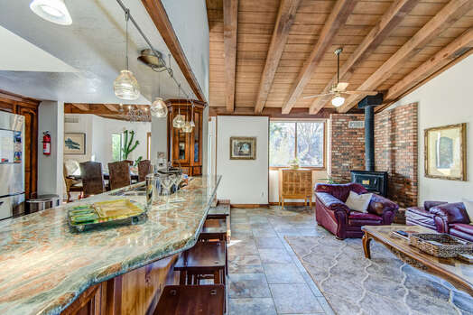 Open Floor Plan and High Ceilings