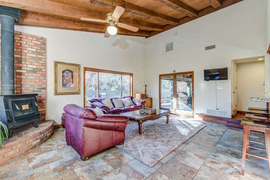 Access to the Back Patio and Private Yard Offering Plenty of Natural Light