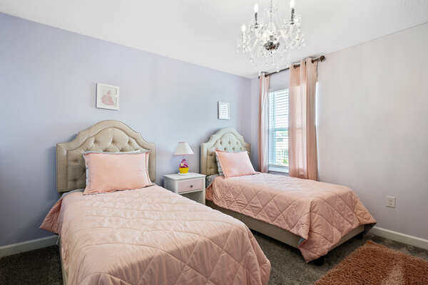 Kid's bedroom fit for a princess