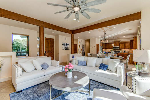 Entry into an Open Floor Plan - Great Room with All New Contemporary Furnishings!