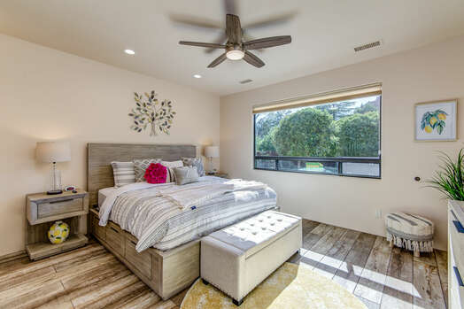 Master Bedroom with a King Bed, 43
