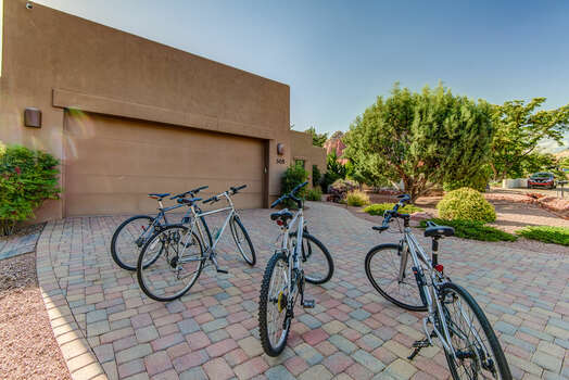 Bikes Available for your Use!