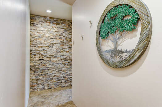 Stunning and Unique Stone Wall