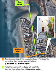 The beach is just a couple of minutes walking distance from the home!