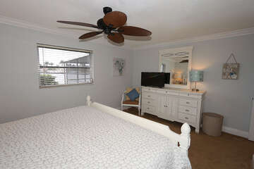 King Guest Bedroom with TV
