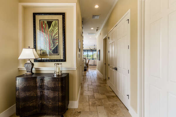 Walk through the upstairs foyer for the rest of this beautiful home