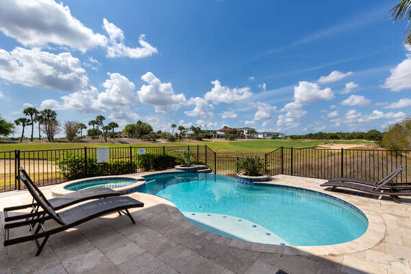 Admire beautiful views right from your private patio