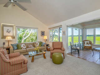 Enjoy fabulous views from this end unit.