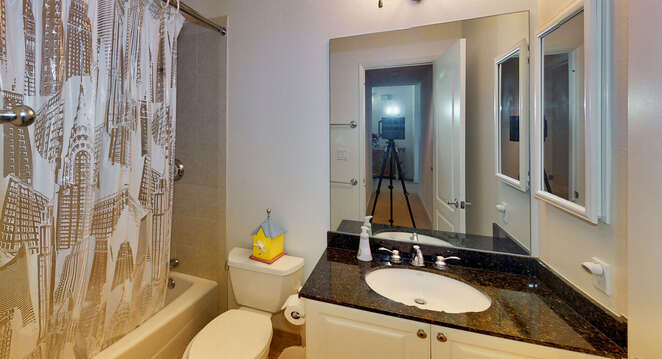 Second Full Bath on First Floor of the Home.