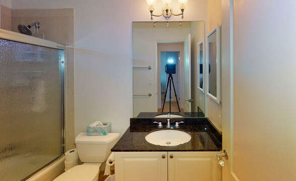 Full Bath on Second Floor shared by Two Upstairs Bedrooms