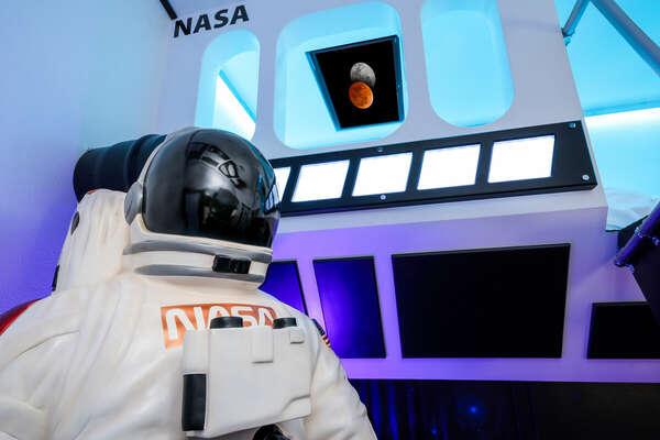 Lifesize astronaut