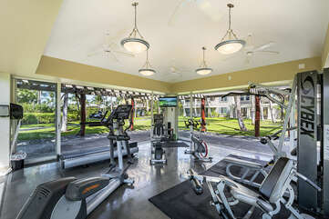 Fairway Villas work-out area