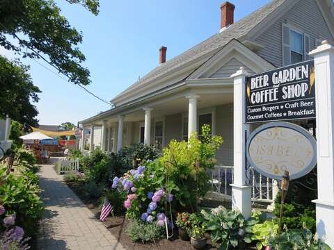 Beer Garden and coffee shop for crafted beers and gourmet coffee! Cape Cod New England Vacation Rentals