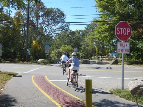 Take a ride on the rail trail! Harwich, Cape Cod, New England Vacation Rentals