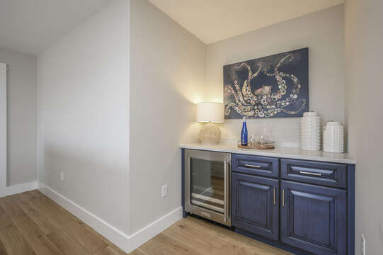 Second floor bonus room with dry bar.Unit 203, 557 Route 28, Harwich Port,Cape Cod, New England Vacation Rentals