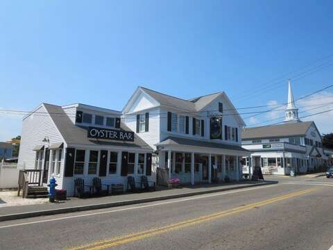 Great Restaurants in Downtown Harwich Port, Cape Cod, New England Vacation Rentals