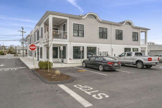 Parking is out back - 2 designated spots for your use! 557 Route 28 Harwich Port, Cape Cod, New England Vacation Rentals