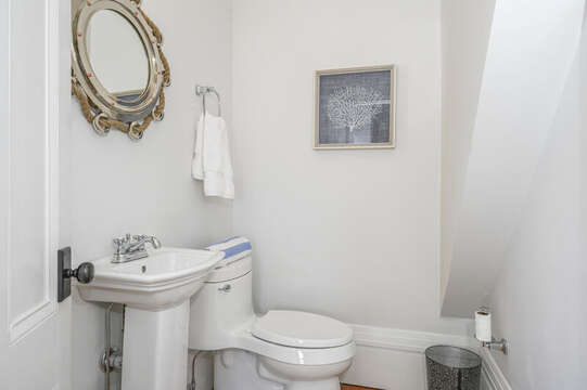 1/2 Bath just off sitting area. 530 Route 28 Harwich Port, Cape Cod, New England Vacation Rentals