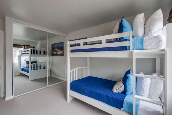 Image of Bunk Bed in Bedroom.