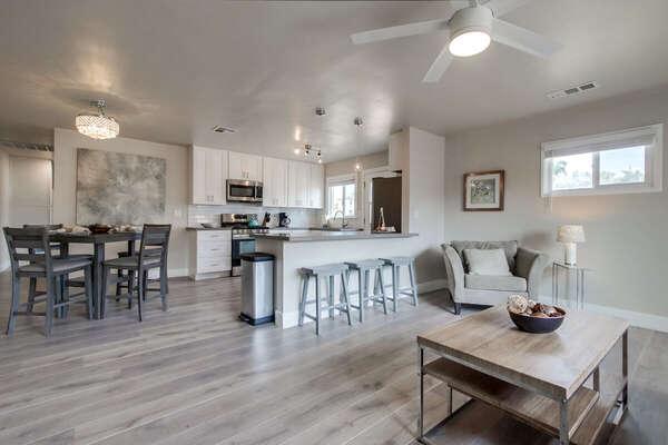 Image of Open Floor Plan in Vacation Rental.