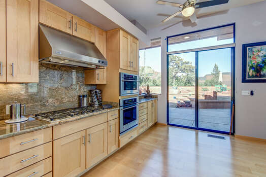 5-Burner Gas Stovetop and Convection Oven