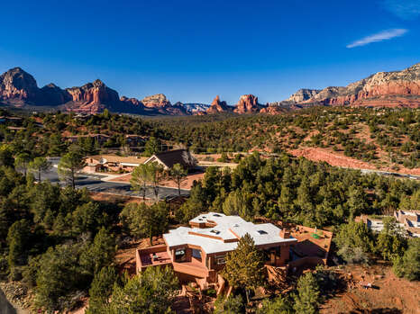 Surrounded by Red Rock Vistas