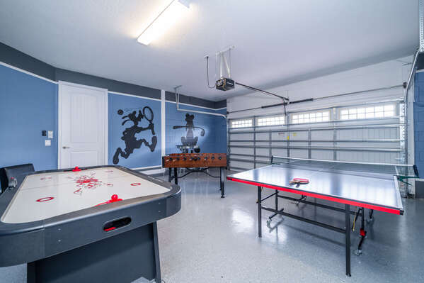 Alternate view of the games room